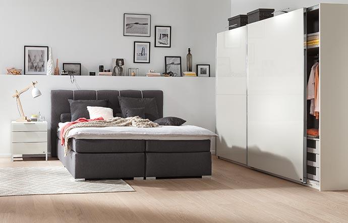 Schlafzimmer von hoher Qualität