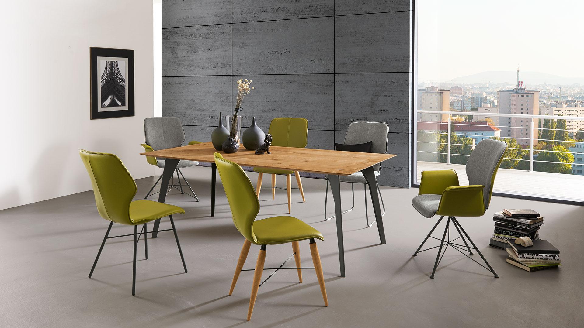 Bei Esstisch Möbel Moderne Für Stühle Ihren Pfiff OXiwZkuPT